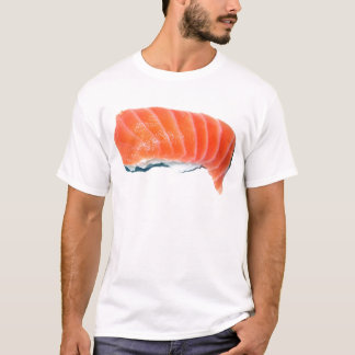 Camiseta Sashimi de color salmón