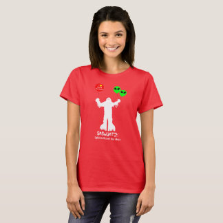 Camiseta Sasquatch vio Roswell, New México
