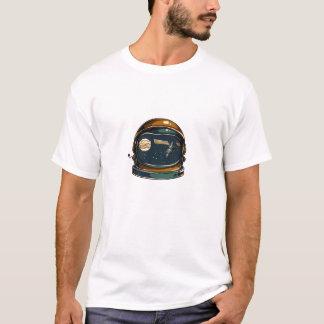 Camiseta satélite de la NASA y la luna