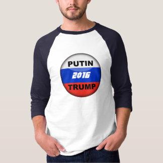 camiseta satírica 2016 del ruso 3/4 del triunfo