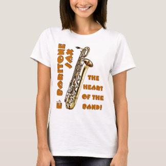 Camiseta Saxofón del barítono