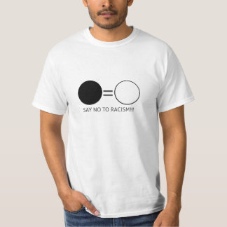 Camiseta Say no to racism!!!