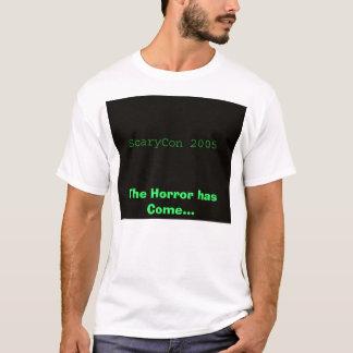 Camiseta ScaryCon 2005, el horror ha venido…