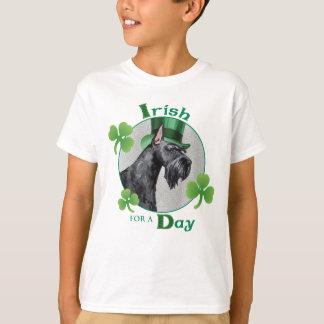 Camiseta Schnauzer gigante del día de St Patrick