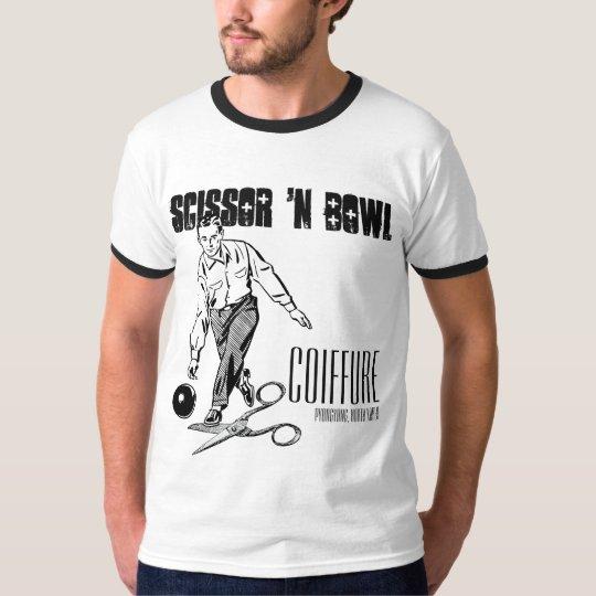 Camiseta Scissor 'el tocado del cuenco de n.  Edición del
