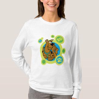 Camiseta Scooby-Doo circunda la insignia del SD