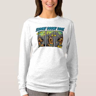 Camiseta Scooby-Doo donde está usted los paneles cómicos