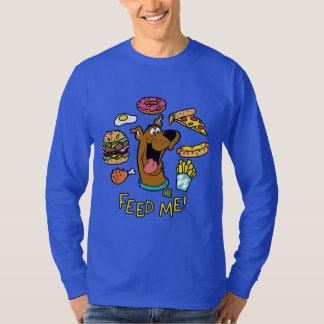 Camiseta ¡Scooby-Doo me alimenta!