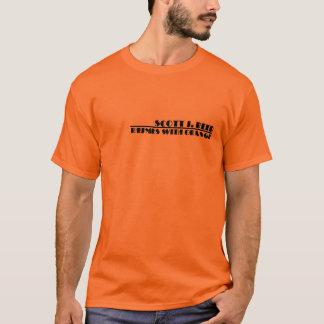 Camiseta Scott J. Reed: Rimas con el naranja