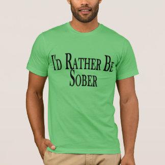 Camiseta Sea bastante sobrio