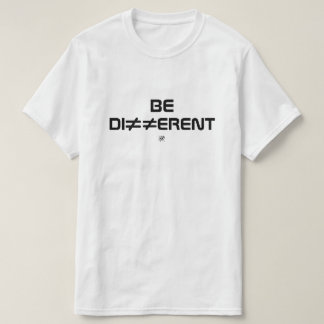 Camiseta Sea diferente