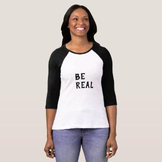 Camiseta Sea real