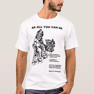 Camiseta Sea todos lo que usted puede ser una rata del