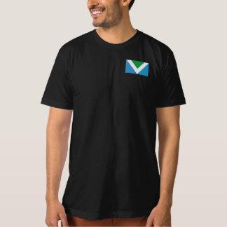 Camiseta Sea valeroso. Sea bueno. Va el Vegan.