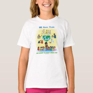 Camiseta SEA valores humanos - diseño inspirado de los