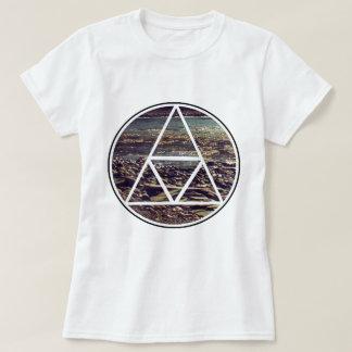 Camiseta Secuencia genética - marca de tierra