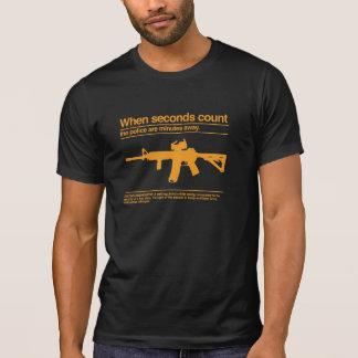 Camiseta Segunda enmienda/AR-15/policía