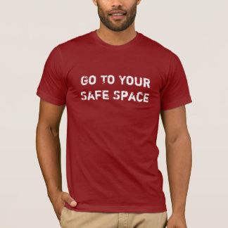 Camiseta segura del espacio