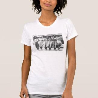 Camiseta Seis vaqueras en los días de la frontera de