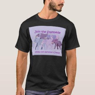 Camiseta Selle hacia fuera a Alzheimer