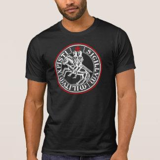 Camiseta Sello de los soldados de Templar de los caballeros