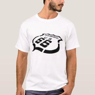 Camiseta Sello negro de la ruta 66
