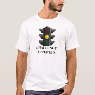 Camiseta Semáforo amarillo aceptado desafío divertido