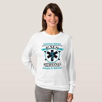 Camiseta Semana del servicio médico de la emergencia que