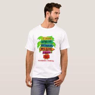 Camiseta Señal de tráfico de la costa este de la Florida