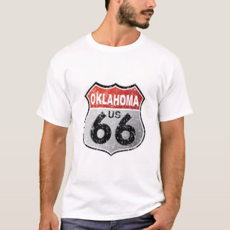 Camiseta Señal de tráfico histórica de la carretera
