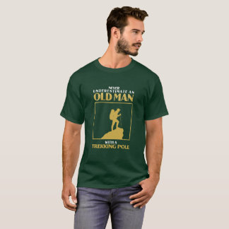 Camiseta Senderismo del viejo hombre