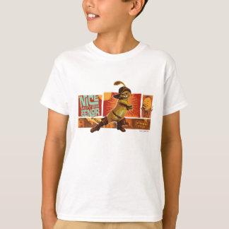 Camiseta Senor agradable de los movimientos