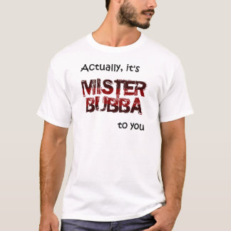 Camiseta SEÑOR Bubba
