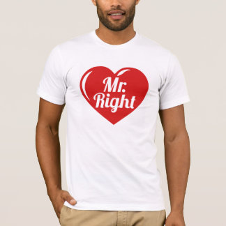 Camiseta Señor la Right Red Heart
