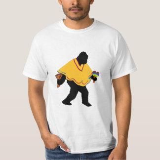 Camiseta Senor Squatcho de Mayo con el poncho