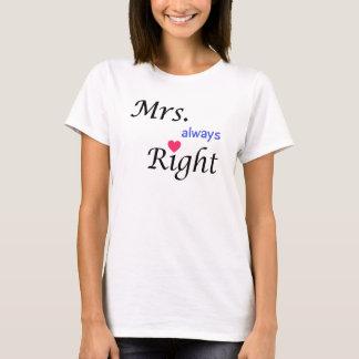 Camiseta Señora Always la Right Tee