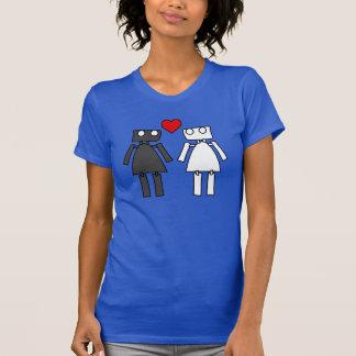 Camiseta Señora Bots en amor