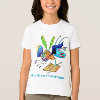 Camiseta - señora Flicker Fireflybrarian