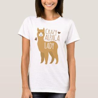 Camiseta Señora loca de la alpaca