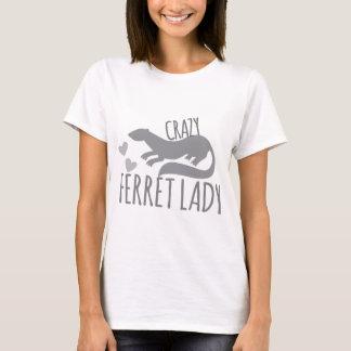Camiseta señora loca del hurón