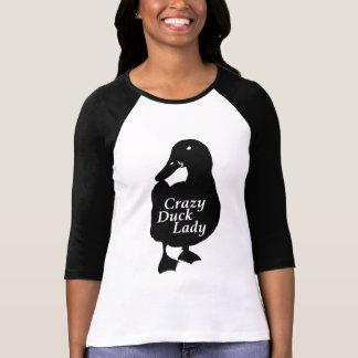 Camiseta Señora loca del pato