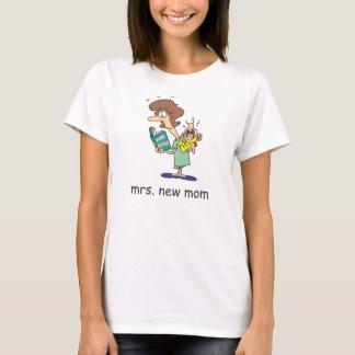 Camiseta Señora. Nueva mamá