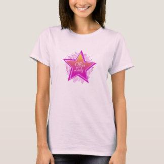Camiseta Señora Shirt de la oficina