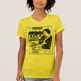 Camiseta Señora Untamed 1926 de Gloria Swanson