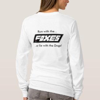 Camiseta Señoras de los zorros de RC funcionadas con con la