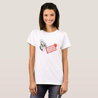 Camiseta Señoras del peligro de la obstrucción