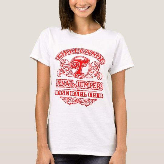 Camiseta (señoras) - logotipo retro