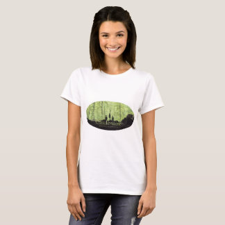 Camiseta Señoras solitarias de las petunias de Johnny-Marie