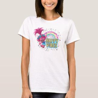 Camiseta Sensación feliz de la amapola de los duendes el  