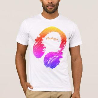 Camiseta sensación personalizada de DJ de la moda buena